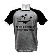 Camiseta Star Trek - Jornada Nas Estrelas