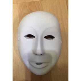 Mascaras Blanca Disfraz Disfraces Niños, Adultos, Manualida