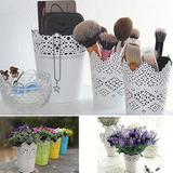 Matera Vintage Decorativa Flores Blanca Deco Hogar Bodas