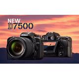 Cámara Nikon D7500 Lente 18-140 Grabacion 4k Msi