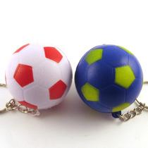 Llavero Pelota De Futbol De Goma Antiestres X 20 Unidades