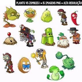 Kit Imprimible Plants Vs Zombies 44 Imagenes Clipart