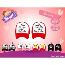 Gorras 14 De Febrero Personalizadas Red Pareja