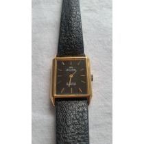 Reloj Silvana Enchapado De Oro Incabloc 17 Rubis Unisex