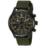 Timex Expedition Field Chrono Negro / Reloj De Pulsera De L