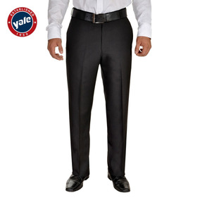 Pantalon Yale Corte Recto Tono Negro + Camiza Y Zapatos