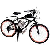 Bicicleta Motorizada Automática 80cc 2 Tempos Standart
