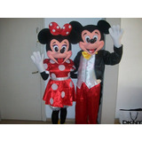 Alquiler De Disfraces Mickey Minnie Peppa Leon Mono Vaca Lol