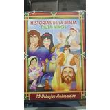 Historias De La Biblia Para Niños 10 Historias 2dvds