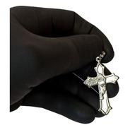 Pingente Rellicari Crucifixo Masculino Em Aço Inox A014