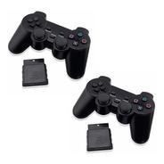 2 Joystick Control Ps2 Playstation 2 Inalámbrico Enviogratis
