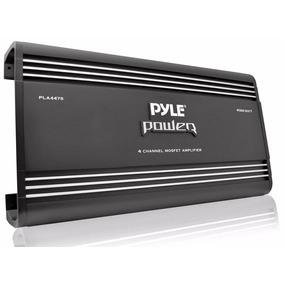 Planta Amplificador Pyle Power 4000 Watt 4 Canales