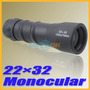 Monocular Tipo Telescopio De 9.5 Pulgadas 22x 32mm