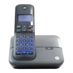 Telefone Motorola Moto4000 S/ Fio Id. Chamada Viva-voz Preto
