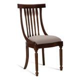 Móvel Em Madeira Maciça - Cadeira Napoleão Ref. 012
