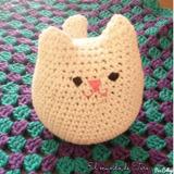 Peluche Amigurumi Gato Gatito Gato Mishto Crochet