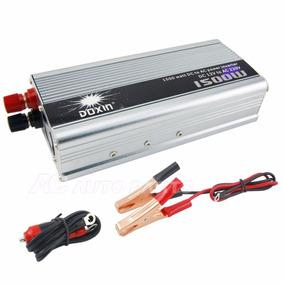 Convertidor 12v A 220v 1500w Inversor Energia P/auto