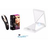 Depilador Pinça Ana Hickmann Com Led + Espelho C/ Iluminação