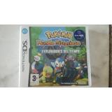 Pokemon Mundo Misterioso - Exploradores Del Tiempo - Español