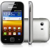 Smartphone Samsung Galaxy Y Prata Gt-s5360 Com Android 2.3