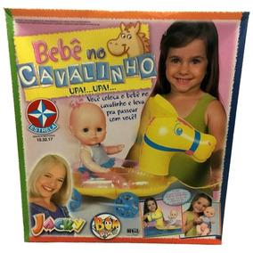 Boneca Bebê Cavalinho Jacky Bom Dia Cia Estrela / Ano 2002