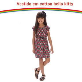 Vestido Preto Em Cotton - Vestidos para Meninas no Mercado Livre Brasil e6845e274bb7