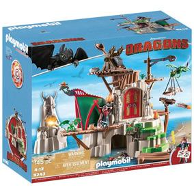 Castillo Dragons Dreamworks Playmobil