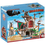 Castillo Dragons Dreamworks Playmobil