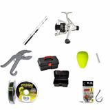 Kit Pesca Molinete - 7 Produtos