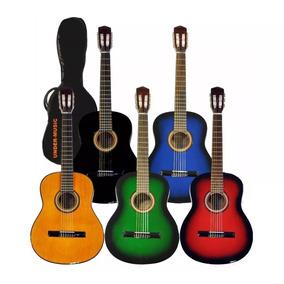 Guitarra Criolla Clasica Calidad Superior + Funda Pua