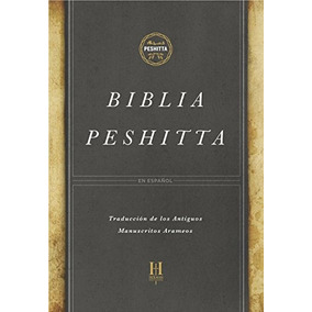 Livro Biblia Peshitta, Tapa Dura: Revisada Y Aumentada