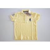 Camisa Polo Original Color Infantil Juvenil Tam 02 Ao 14