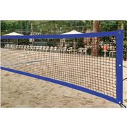 Rede De Beach Tennis Master Rede Oficial - Azul