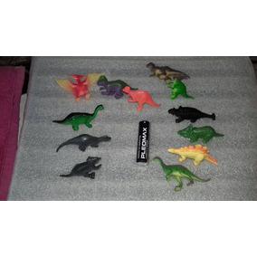 Lote De 12 Figuras De Dinosaurio,maqueta,juguete O Coleccion