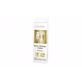 Cable Lightning Adata, Oro, Apple, 1 M, Cable Lightning