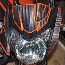Adesivo Protetor Carenagem Frontal Sup Moto Yamaha Fazer 150