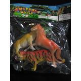 Animales Salvajes Y De Granja Juguete Figuras