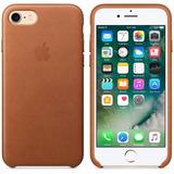 Capa Case De Couro Premium Celular Apple Iphone 7 Tela 4.7