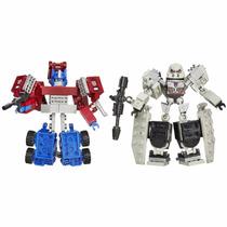 Kre-o Transformers - Conversível - Optimus Prime Vs Megatron