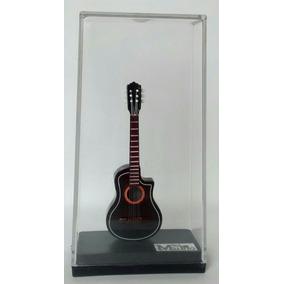 Miniatura De Violão Elétrico 12cm, Cristal