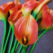 Galhos Copo De Leite - Flores Artificiais- Silicone - Unid.