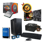 Pc Gamer Amd Ryzen 3 16gb Ddr4 A320m 1tb Gabkit 600w Ahora18