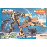 Cogo Army Action 2 En 1 Modelo 3364