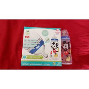 Mamadeira Mickey Nuk 300ml - Preço Para 1 Mamadeira