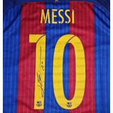 Jersey Firmado Lionel Messi Fc Barcelona Nike 2017 Autografo