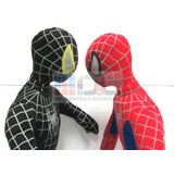 Spiderman Peluche Enorme 60 Cm Negro Y Rojo Precio X Los 2 !