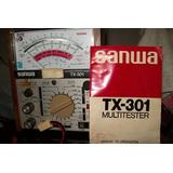Multitester Sanwa Tx-301 Roe Potencia Japon La Plata