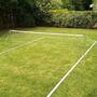 Cancha Futbol Tenis Completa Kit Poste Aluminio Linea Red 4m