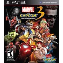 Marvel Vs Capcom 3 Fate Of Two Worlds Original Ps3