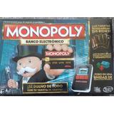 Monopoly Banco Electrónico Ultimate Banking - Envio Gratis